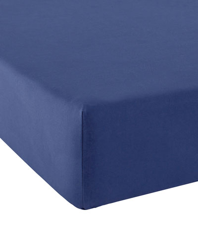 Vexin Encre 200 Thread-Count King Fitted Sheet