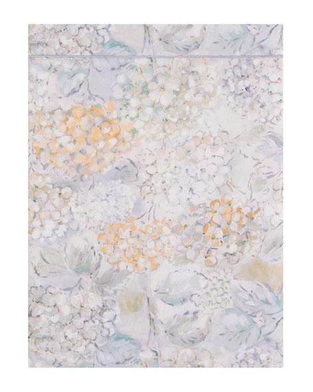 Anne de Solene Bouquet King Flat Sheet