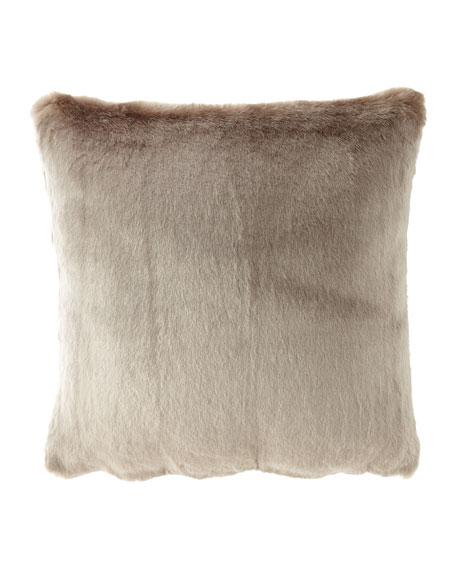 Isabella Collection by Kathy Fielder Jasmine Faux-Fur European Sham