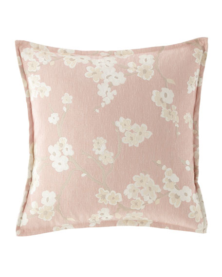 Isabella Collection by Kathy Fielder Jasmine Floral Pillow