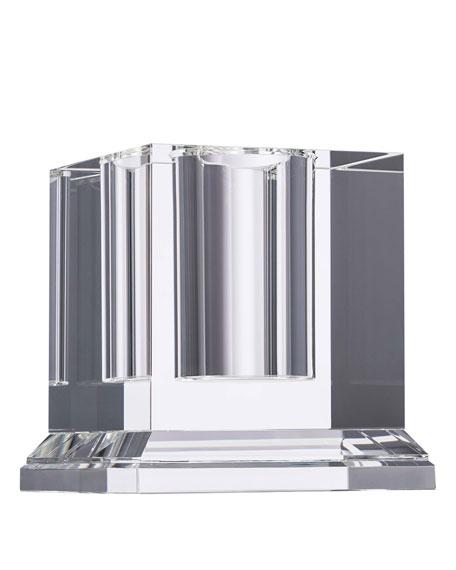 Veritas Square Pillar Cube Vase