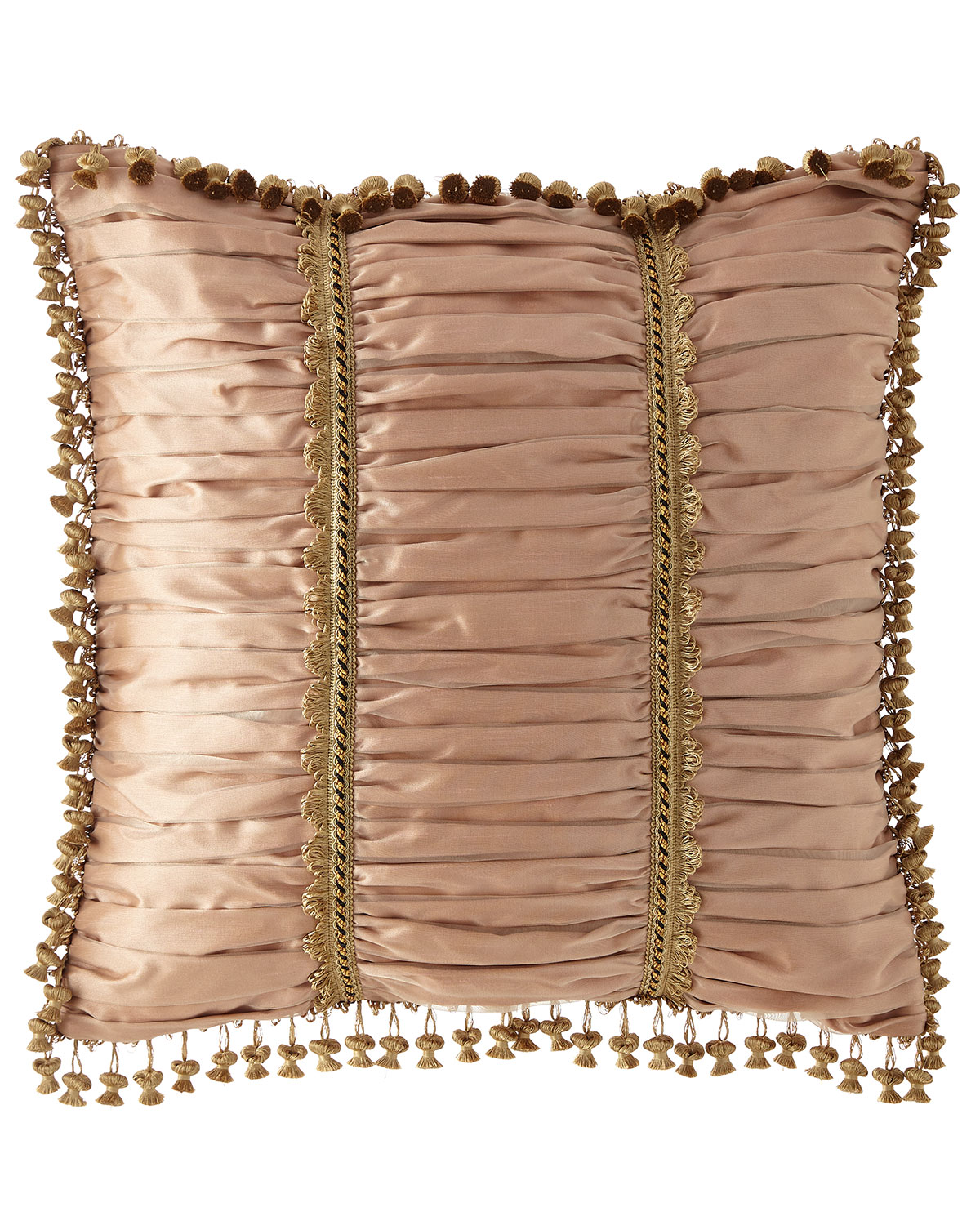 Sweet Dreams Midnight Garden Ruched European Sham