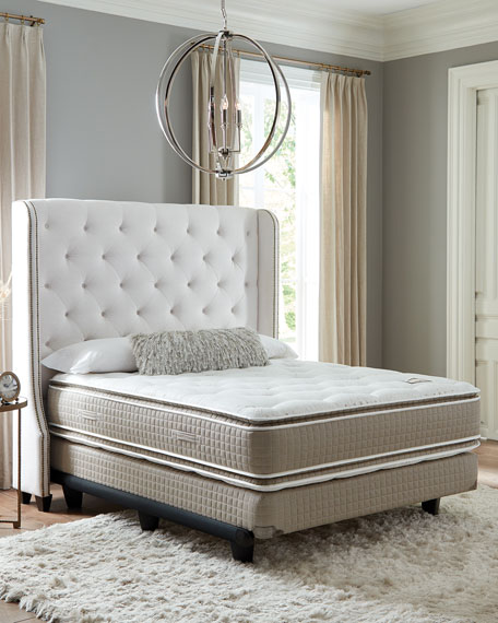 Shifman Mattress Saint Michele Dauphine Collection California King Mattress & Box Spring Set