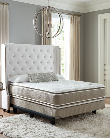 Shifman Mattress Saint Michele Villa Rosa Collection Queen Mattress & Box Spring Set