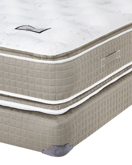 Shifman Mattress Saint Michele Villa Rosa Collection Twin XL Mattress & Box Spring Set