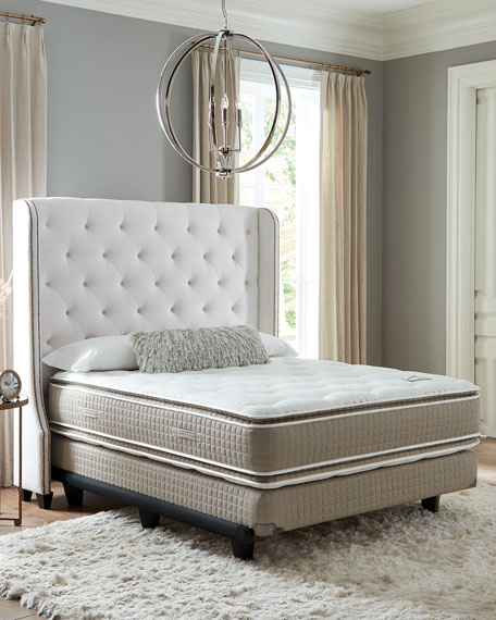 Shifman Mattress Saint Michele Villa Rosa Collection King Mattress & Box Spring Set