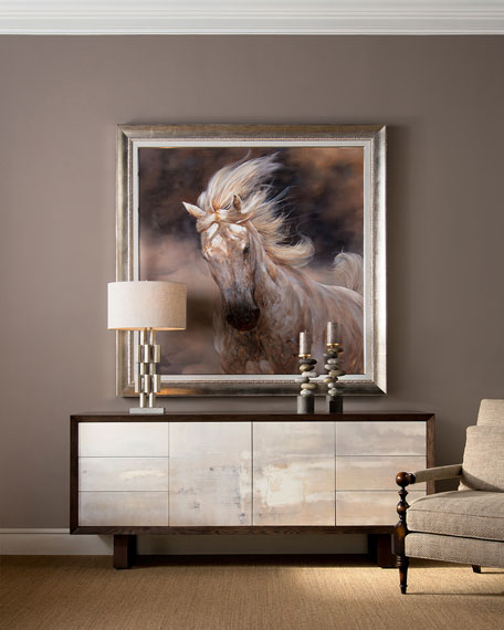 John-Richard Collection Wingka Stallion Canvas Print