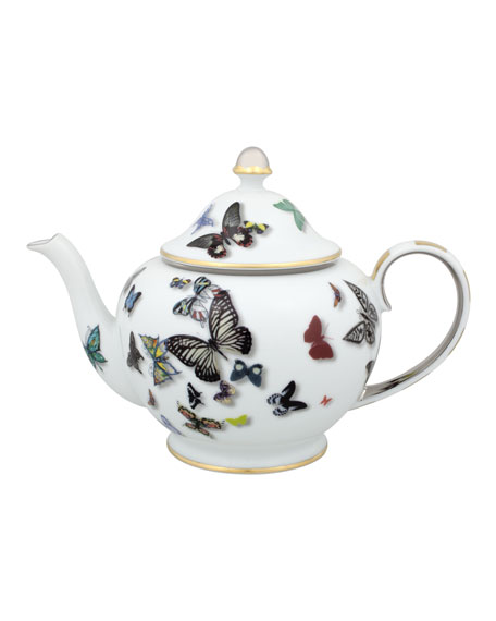 Christian Lacroix Butterfly Teapot