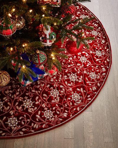 Velvet Christmas Stocking
