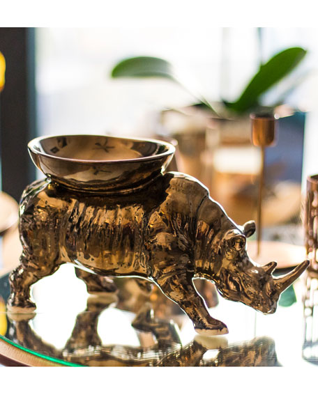 Rialheim Rhino Candle Holder