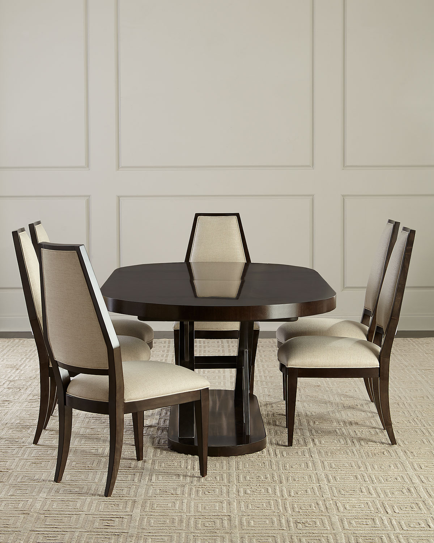 db2686022b7b Azzi Oval Dining Table | Neiman Marcus