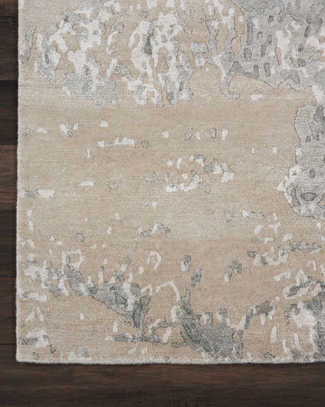 NourCouture Hampton Hand-Knotted Rug, 4' x 6'