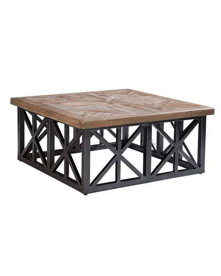 "Arch Salvage Outdoor Oliver 42"" Coffee Table"