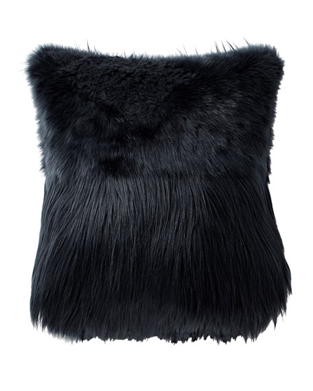 Highline Grayson Faux-Fur Decorative Pillow