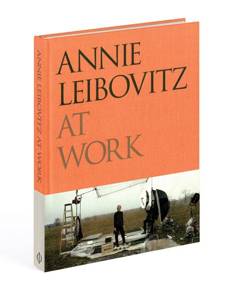 """Phaidon Press """"Annie Leibovitz at Work"""" Unsigned Book"""