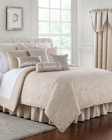 Waterford Gisella 4-Piece Reversible California King Comforter Set