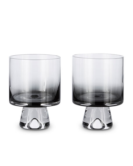 Tom Dixon Tank Low Ball Glasses, Set of 2