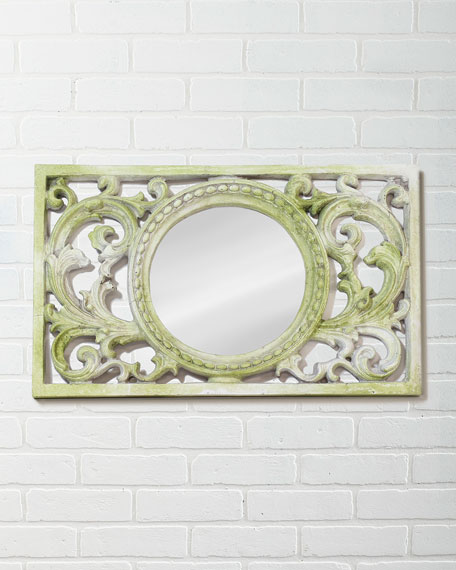 Scrollwork Frame with Mirror