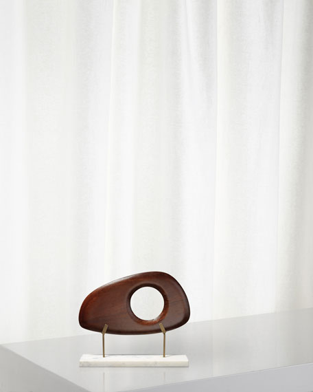 Jamie Young Betty Long Wood Object