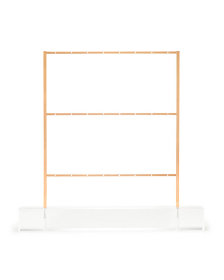 Kendra Scott Earring Ladder Jewelry Stand in Rose Gold