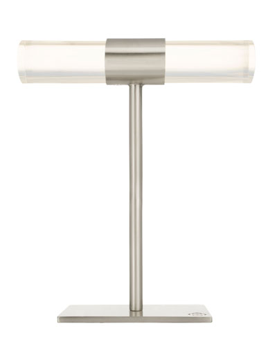 Large T-Bar Jewelry Stand in Antique Silver