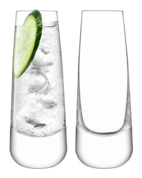 LSA Bar Culture Long Drink Glasses, Set of 2