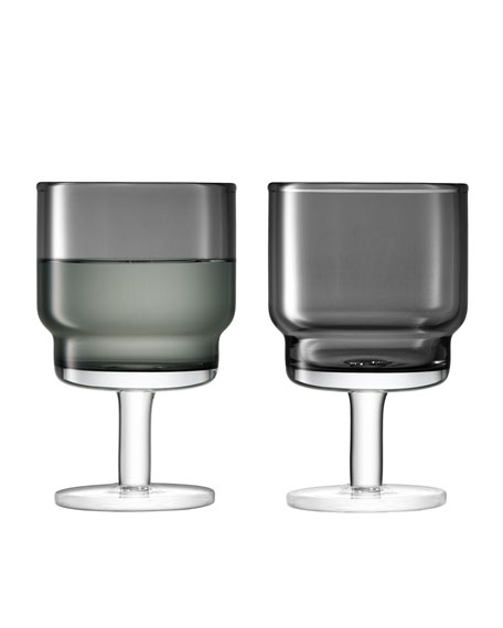 LSA Slate Utility Wine Glasses, Set of 2