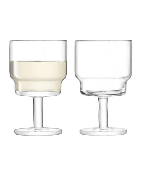 LSA Clear Utility Wine Glasses, Set of 2