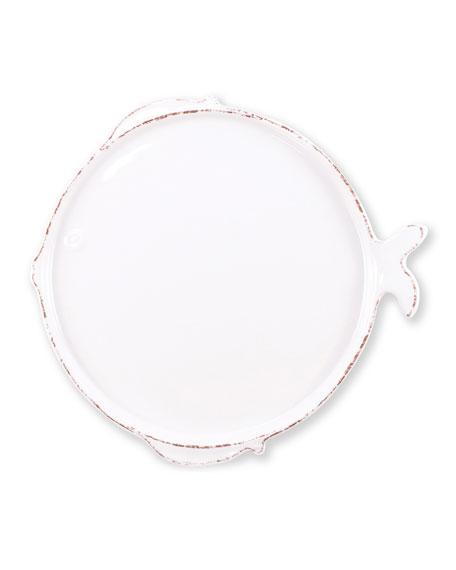 Vietri Melamine Lastra Fish Dinner Plate
