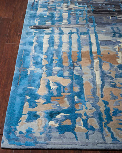 Claude Hand-Tufted One Of a Kind Rug  7'9 x 9'9
