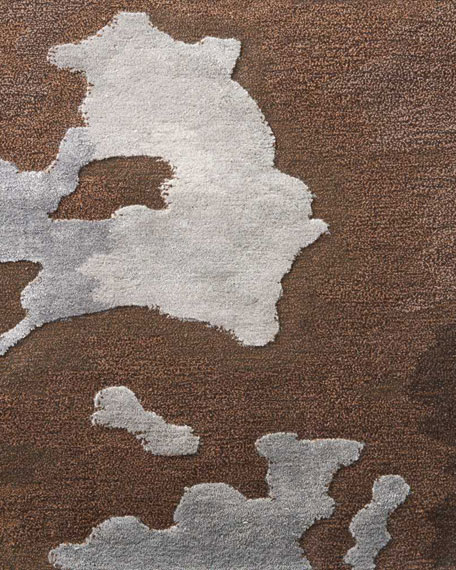"""Kathleen Marie New York Harrison Hand-Tufted One Of a Kind Rug, 7'9"""" x 9'9"""""""