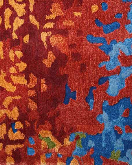 "Kathleen Marie New York McKellen Hand-Tufted One Of a Kind Rug, 7'9"" x 9'9"""