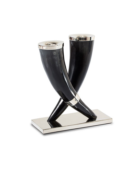 LADORADA Bull Horn Candleholders