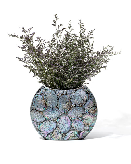 LADORADA Mother-of-Pearl Symmetry Vase