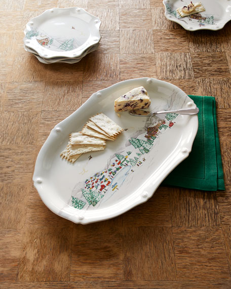 "Juliska Berry & Thread North Pole 17"" Platter"
