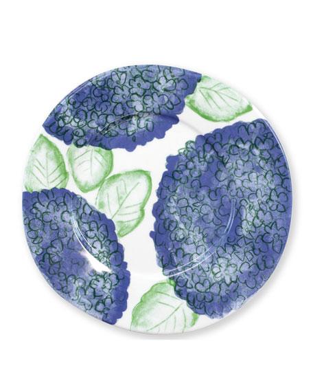 Vietri Melamine Hydrangea Salad Plate