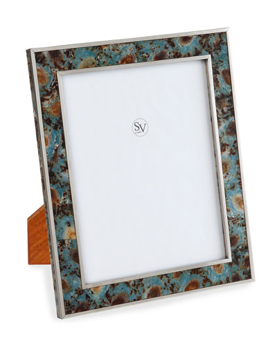 Valentina Blue Picture Frame  5 x 7