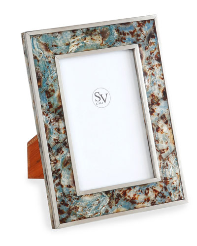 Valentina Blue Picture Frame  4 x 6