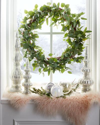 30 Seeded Eucalyptus Wreath