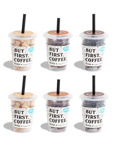 Sugarfina x Alfred 6-Piece Mini Coffee Cup Kit