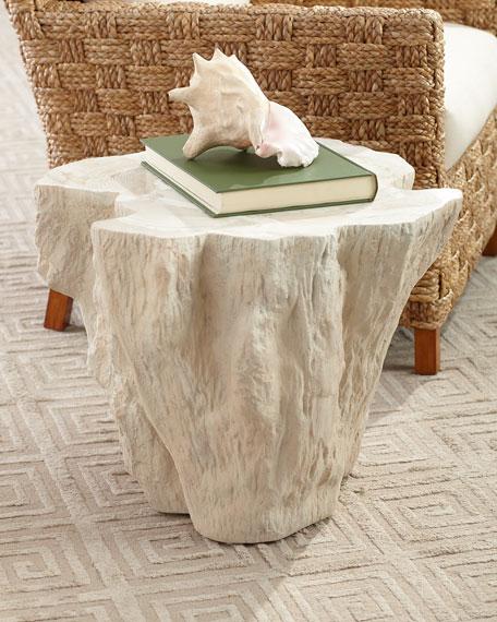 Palecek Ursula Fossilized Clam Side Table