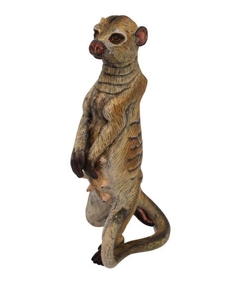 Ardmore Ceramic Art Meerkat Sculpture