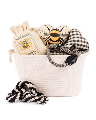 Bee Dog Gift Basket