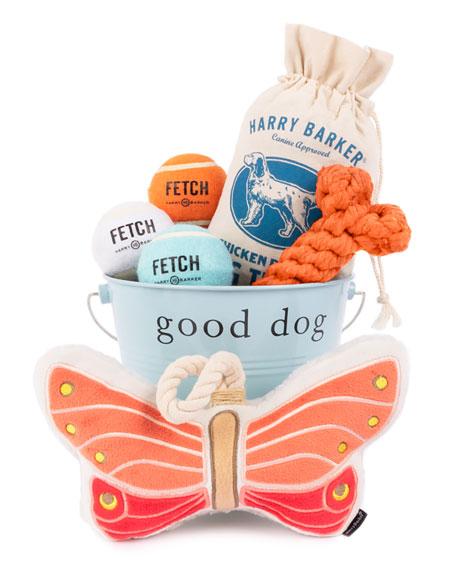 Harry Barker Camper Dog Gift Bucket