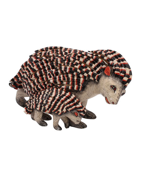 Ardmore Ceramic Art Porcupine Sculpture
