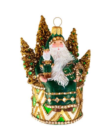 Patricia Breen The Sound of Christmas Santa Ornament