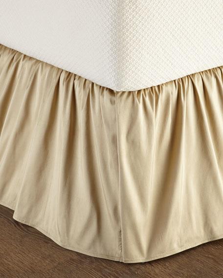 Austin Horn Collection California King Concord Silk Dust Skirt