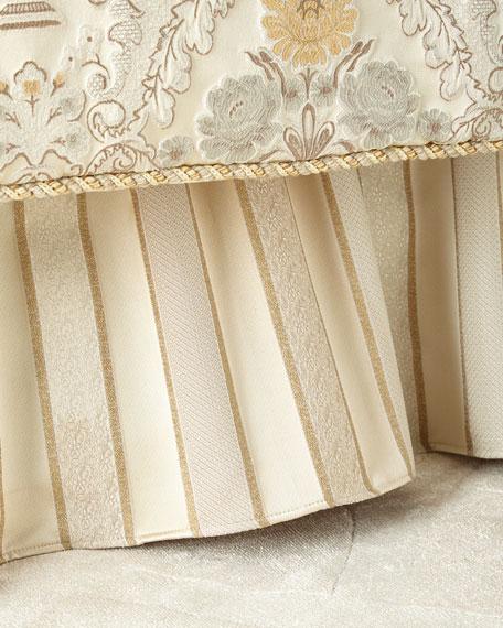 Austin Horn Collection Chelsea Striped California King Dust Skirt