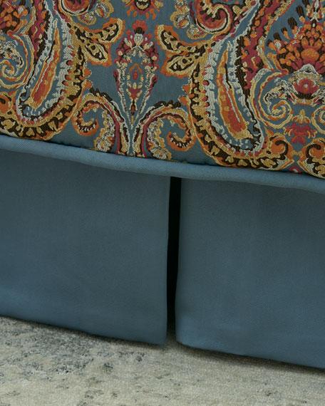 Austin Horn Collection Rowen California King Box Pleated Dust Skirt