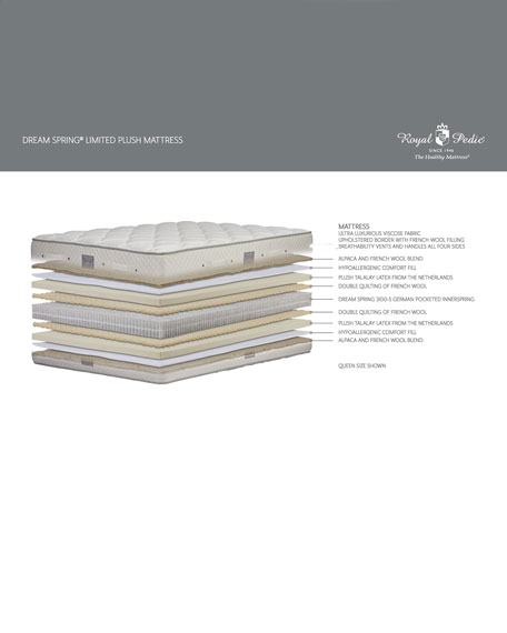 Royal-Pedic Dream Spring Limited Plush Full Mattress
